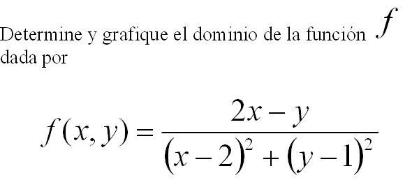 DOMINIOS DE FUNCIONES DE DOS VARIABLES (2/5)